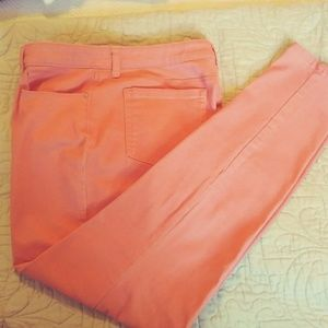 Style & Co Skinny Peach Jeans